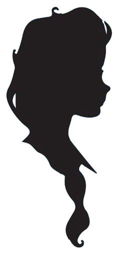 236x508 Anna And Elsa Silhouette Elsa And Anna Silhouette, Frozen Crafts