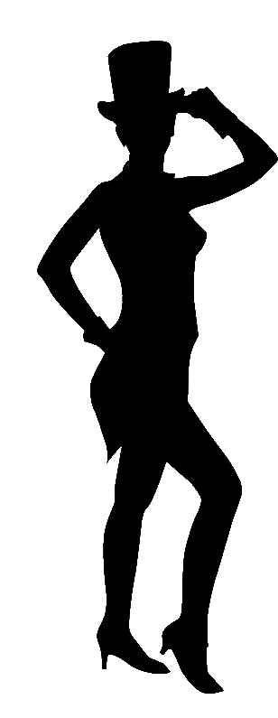 308x795 Opulent Design Tap Dance Silhouette