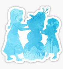 210x230 Silhouette Elsa Stickers Redbubble