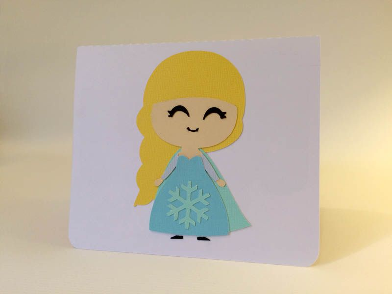 800x600 Carte Reine Des Neige Anna Elsa Frozen Silhouette Portrait