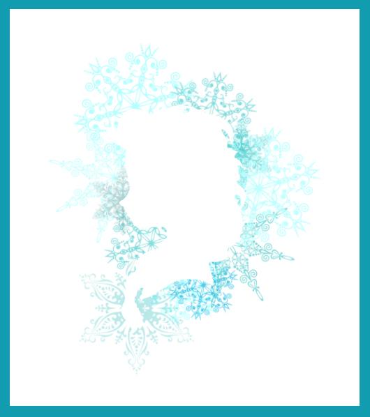530x598 Elsa Silhouette By Skies Of Blue