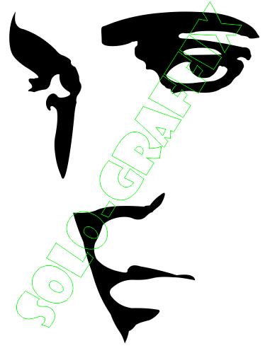 381x499 Pix For Gt Elvis Face Silhouette Clip Art Graphic Design