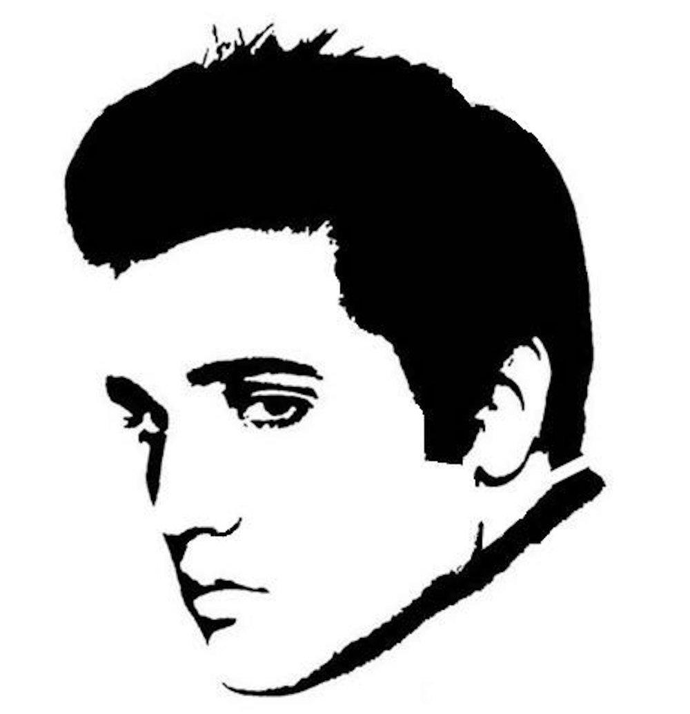 1000x1035 Painted Elvis Shirt Domestic Diva