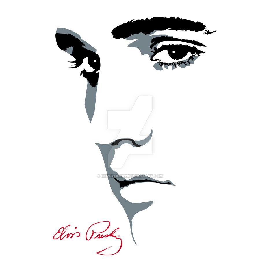900x915 Elvis Presley By Seizethejay