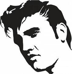236x243 Elvis Presley Clipart Elvis Presley Stencil