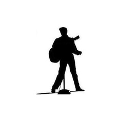 236x236 Elvis Silhouette Extravaganza Silhouette Images, Elvis Presley