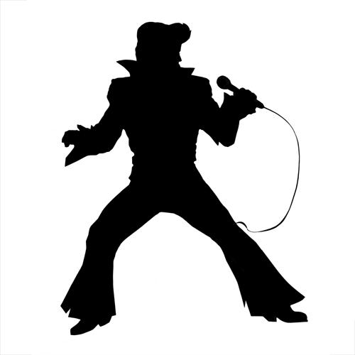 Elvis Presley Silhouette Images
