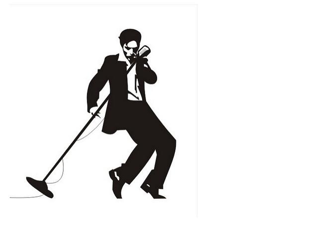 640x459 Elvis Presley Silhouette Svg Dxf Eps Silhouette Rld Rdworks Pdf