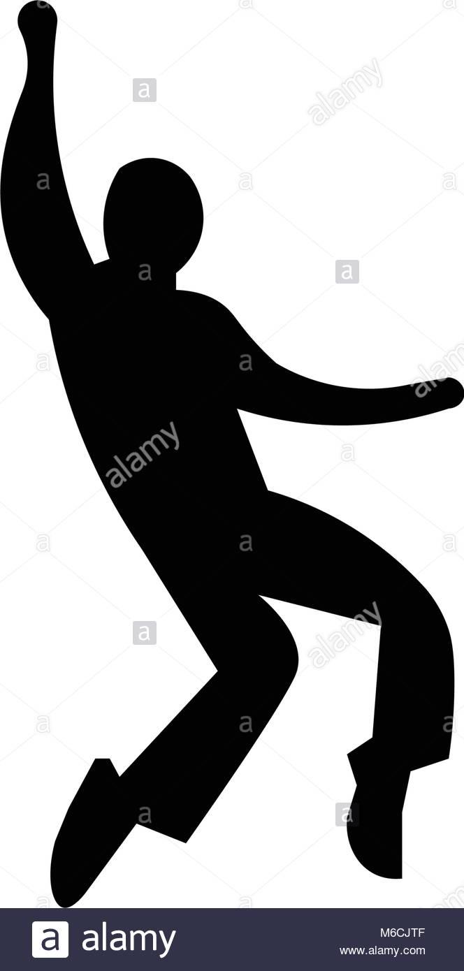 664x1390 Elvis Silhouette On White Background Stock Vector Art