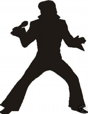 309x400 Trudy's Blog Elvis Silhouette Extravaganza Utdmemphis Lovin