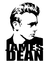 170x218 James Dean Entertainment Home And Decor Stickers