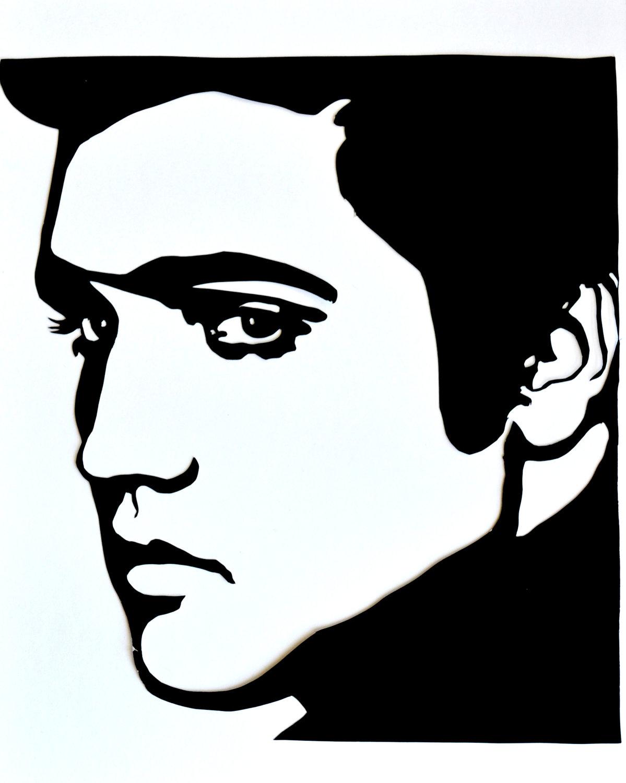1199x1500 Clip Art Elvis Silhouette Clip Art