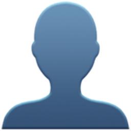 256x256 Bust In Silhouette Emoji U 1f464