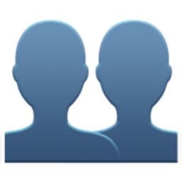 256x256 Busts In Silhouette Emoji U 1f465