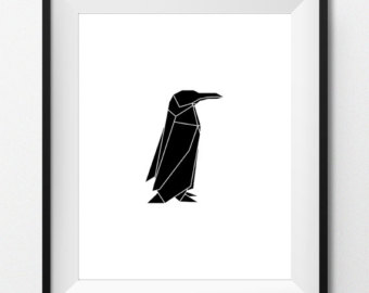 340x270 Emperor Penguin Art Etsy
