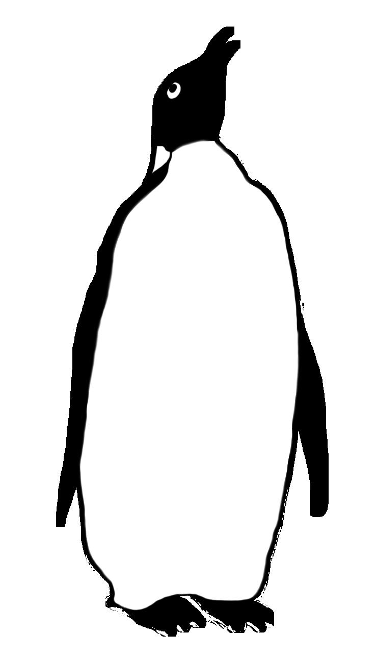 738x1287 Funny Penguin Clip Art