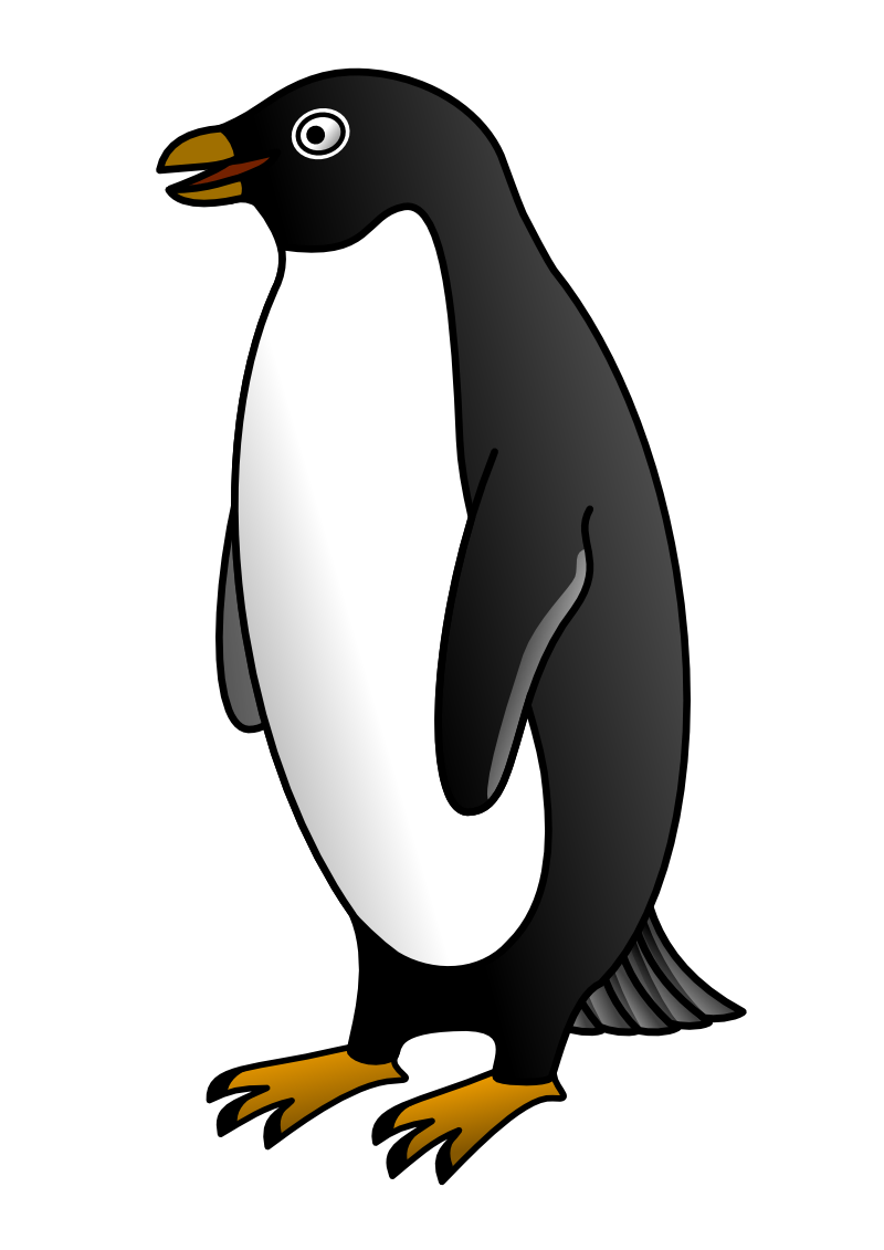 800x1131 Clip Art Penguin Silhouette Clip Art