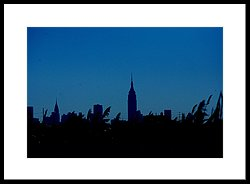 250x184 Empire State Building Silhouette Photograph By Marcia Mello