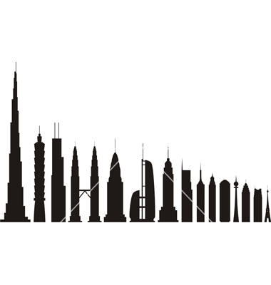 380x400 Empire State Building Silhoutte Clipart