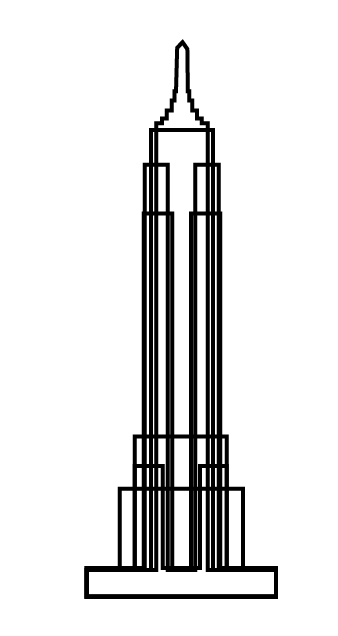 338x636 Empire State Building Additive And Reductive Digital Fabrication