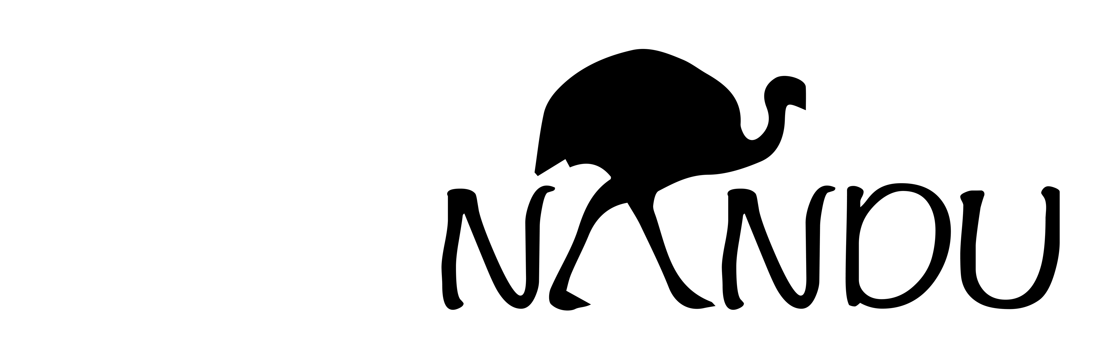 3713x1129 Emu Clipart