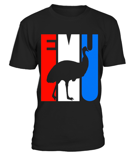 480x540 Retro Rwnb Emu Silhouette T Shirt Special Offer, Not Available