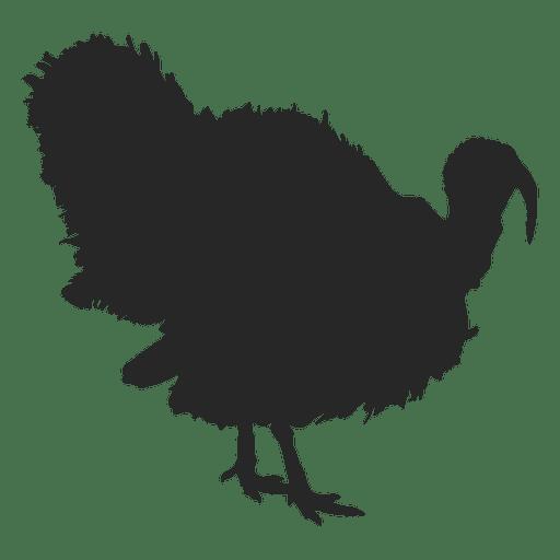 512x512 Turkey Silhouette 1