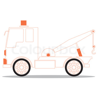 320x320 Vector Set Of Silhouettes The Cargo Trucks. Stock Vector Colourbox