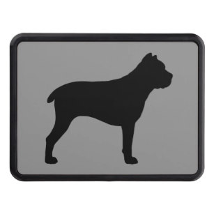 307x307 Mastiff Dog Trailer Hitch Covers