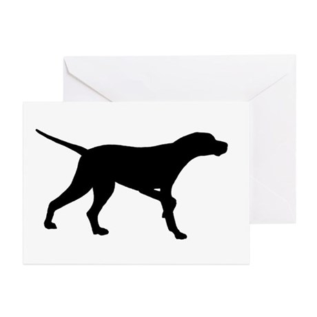 460x460 English Pointer Greeting Cards