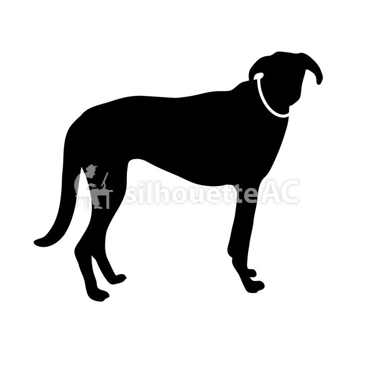 750x750 Free Silhouettes Dog, An Illustration