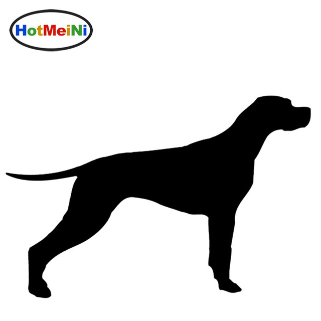 640x640 Hotmeini New English Pointer Dog Graphic Car Sticker Window Bumper