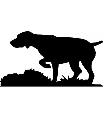 350x400 Dog Personalized House Sign Breed German Shorthaired Pointer
