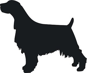300x251 Springer Spaniel Vinyl Sticker English Dog Silhouette Car Van Ebay
