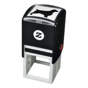 307x307 Springer Spaniels Rubber Stamps Zazzle