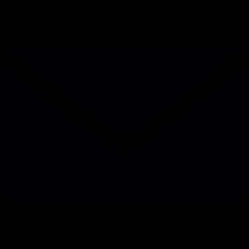 512x512 Envelope Silhouette