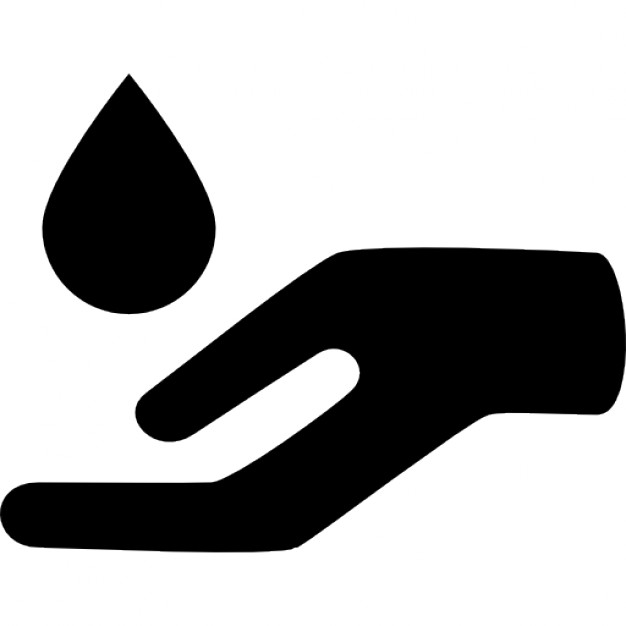 626x626 Essential Oil Drop For Spa Massage Falling On An Open Hand Icons
