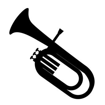340x340 Free Silhouette Vector Icon, Orchestra, Simple