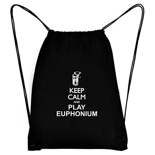 522x522 Teeburon Keep Calm And Play Euphonium Silhouette