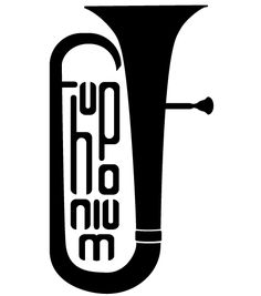 236x267 Tuba, Calligraphic Motive To Print On Shirts And Accessoires