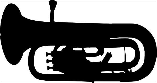 600x318 Euphonium Clip Art