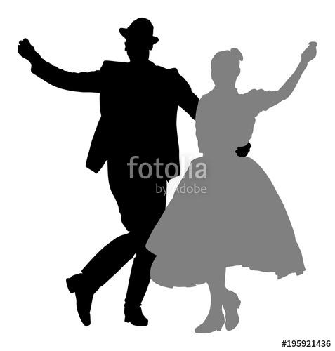 477x500 Hungarian Folk Dancers Couple Vector. Germany Folk Dancers Couple