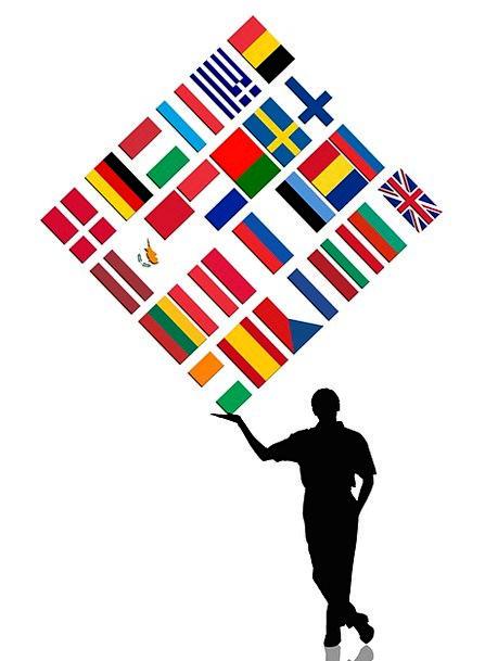 447x609 Man, Gentleman, Outline, Bear, Tolerate, Silhouette, Europe, Flag