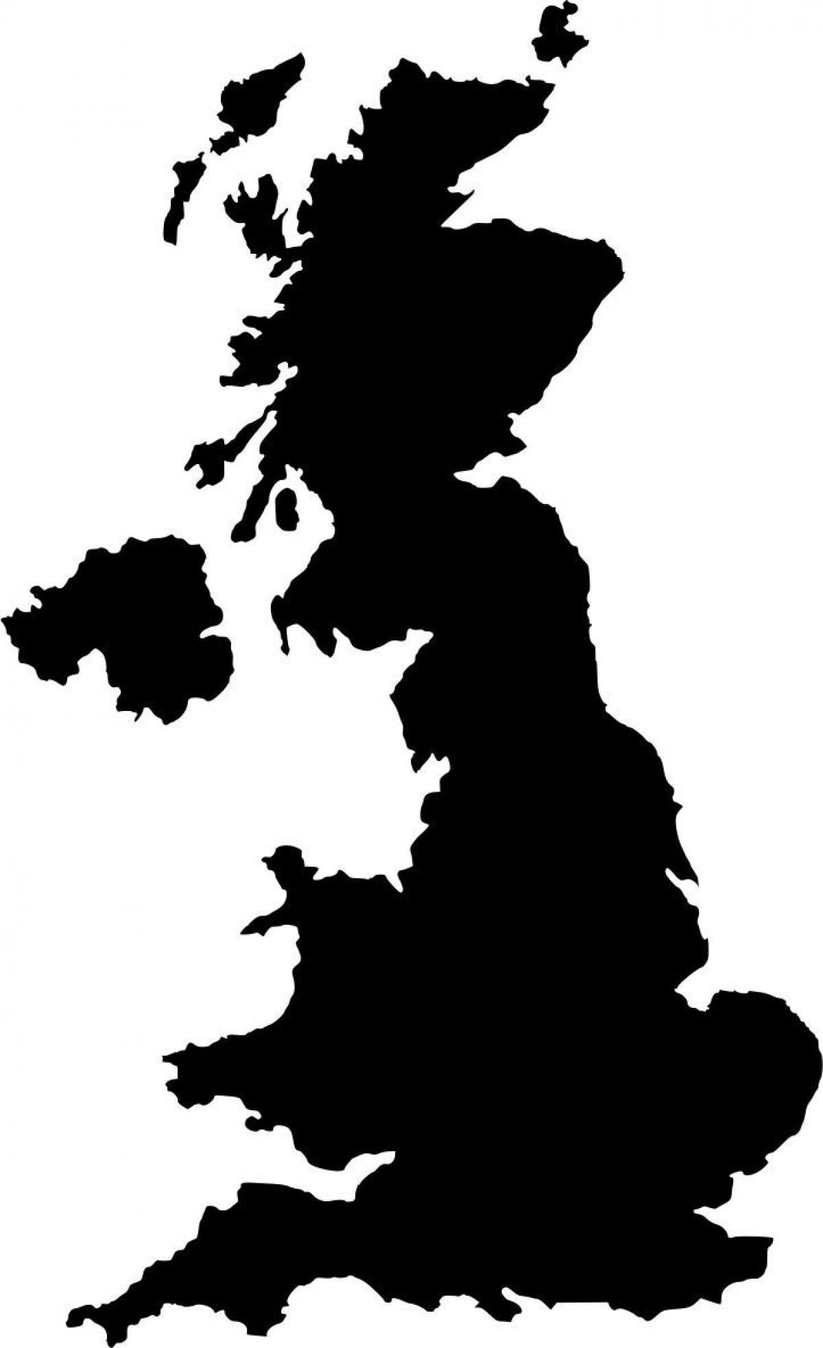 1200x1966 Uk Topographic Map