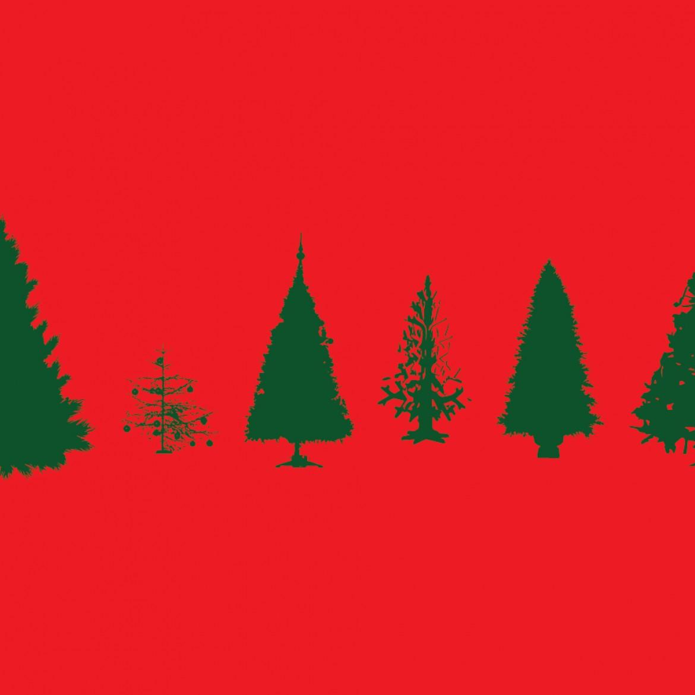 1170x1170 Free Vector Christmas Tree Christmas Lights Decoration