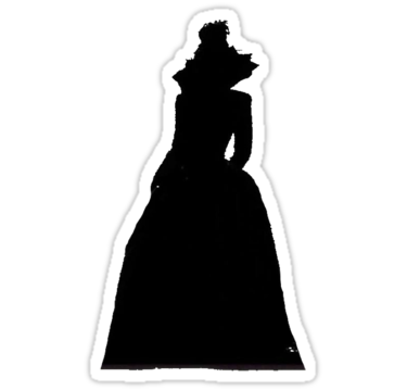375x360 Lana Parrilla Evil Queen Stickers By Paulsonparrilla Redbubble