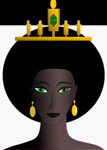 357x500 Queen Clipart African American