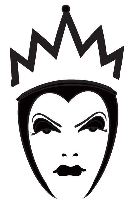 455x693 Disney Evil Queen Silhouette