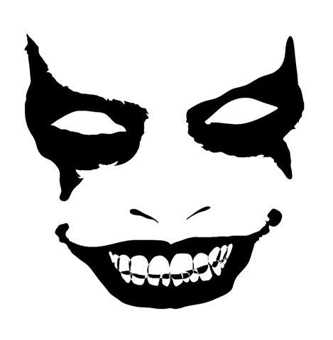 469x480 Evil Face 1 Decal Sticker