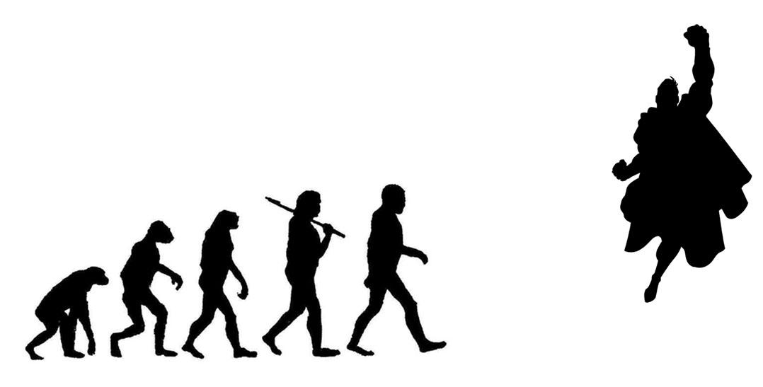 1078x547 Evolution Of Man By Redjackofclubs